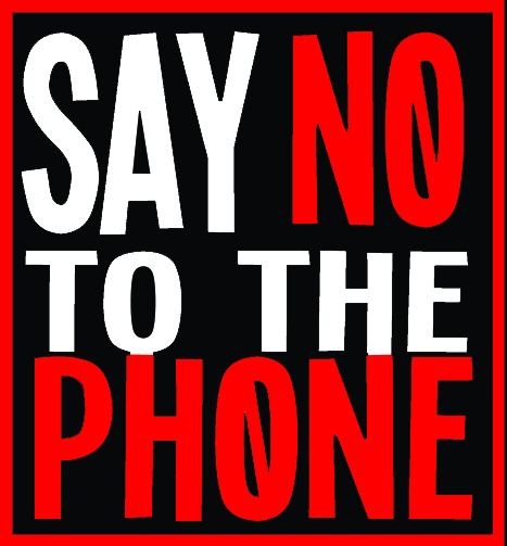 Say No to the Phone Header